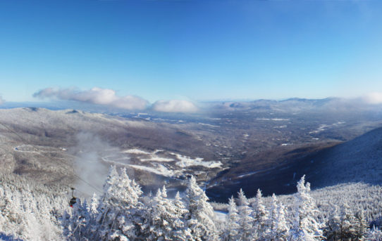 Dec 24th from the top of the Gondola @ Stowe