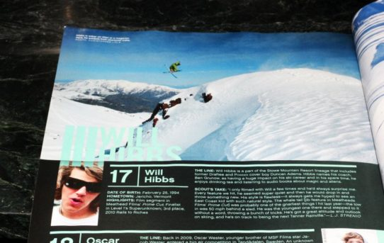Will Hibbs, La Parva Chile, Team Klint, Powder magazine