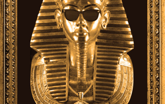 King Tut graphic design