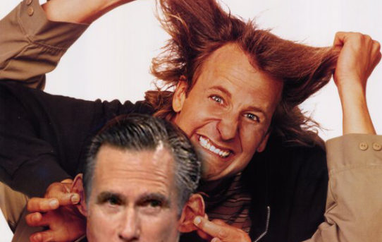 Yeah I'll give Jeff Daniels & Jim Carey props!
