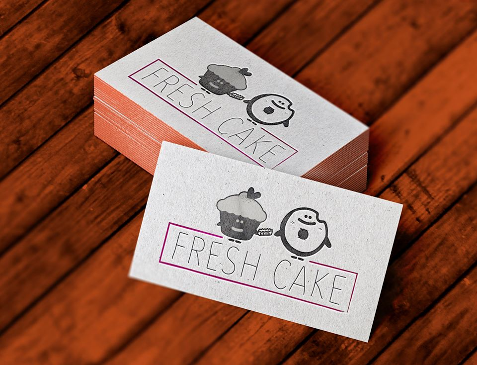 Logo Design - Fresh Cake