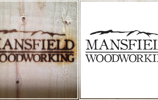 Mansfield Woodworking logo design