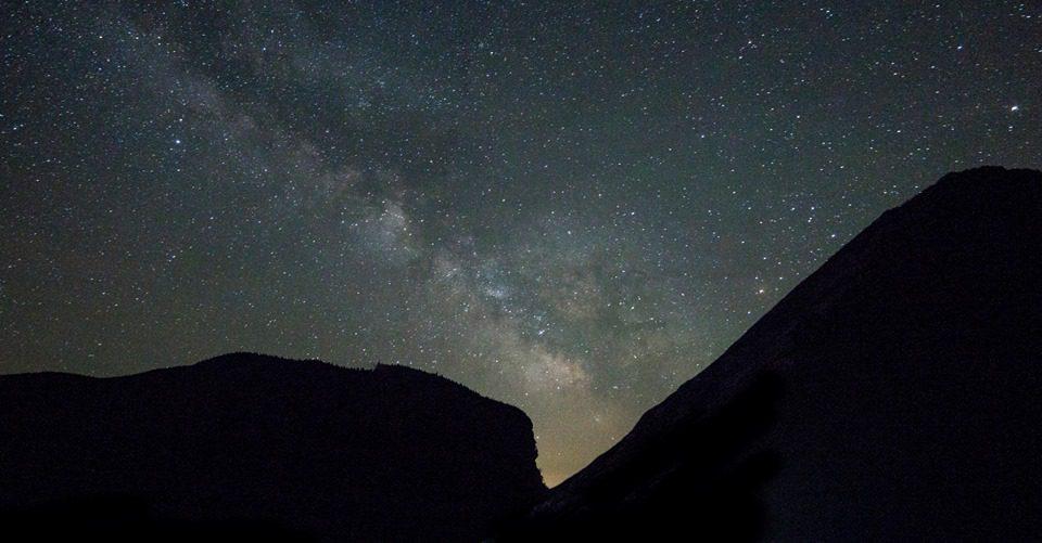 Milky Way over Stowe, Vermont