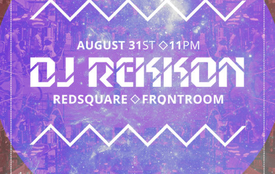 Dj Rekkon at Redsquare