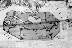 Graffiti in Brooklyn, NYC