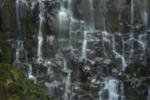 Ramona Falls detail 1, Oregon