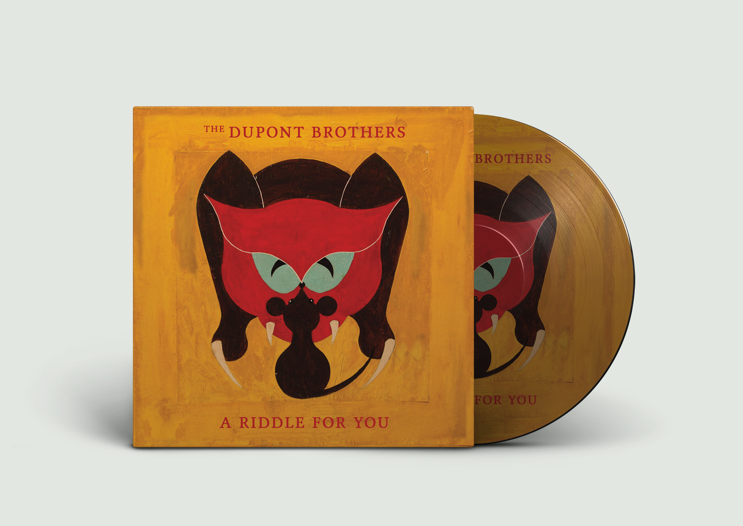 Dupont Brothers vinyl record packaging