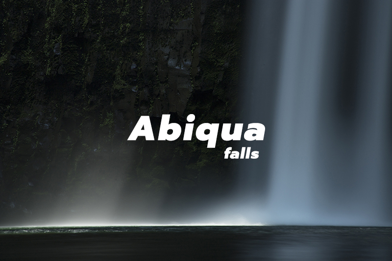 Abiqua Falls, Oregon - cover
