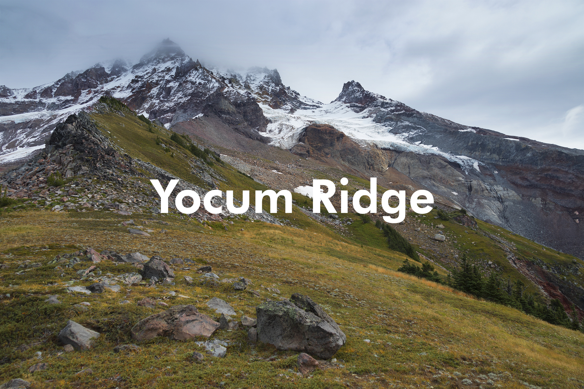 Yocum Ridge, Mt. Hood, Oregon - September 2019