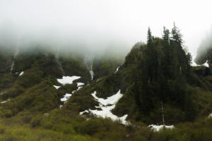 Mist on falls