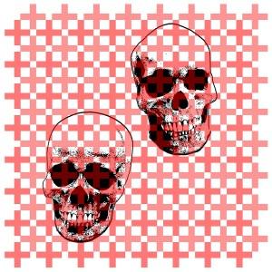 """- """"Skull"""" (1) Matte 11 x 14"""