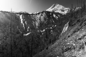 Wapiti Falls & Mt. Hood