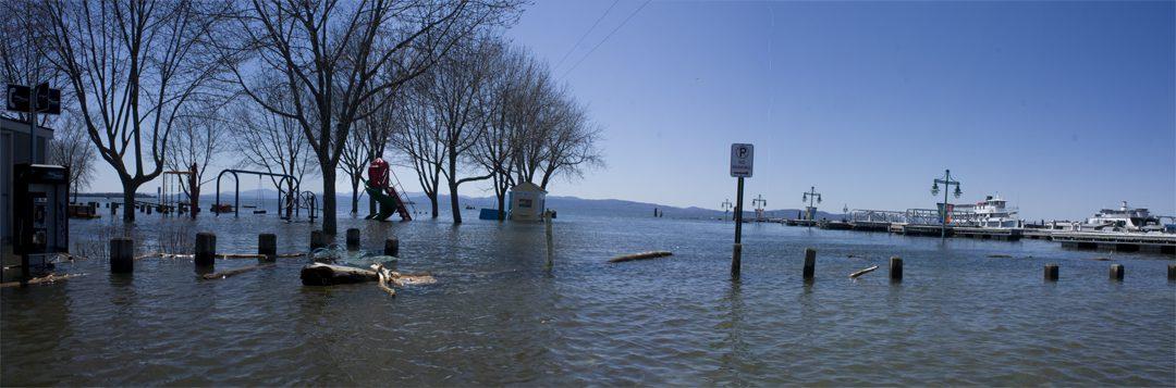 Burlington, Vermont 2011 High waters