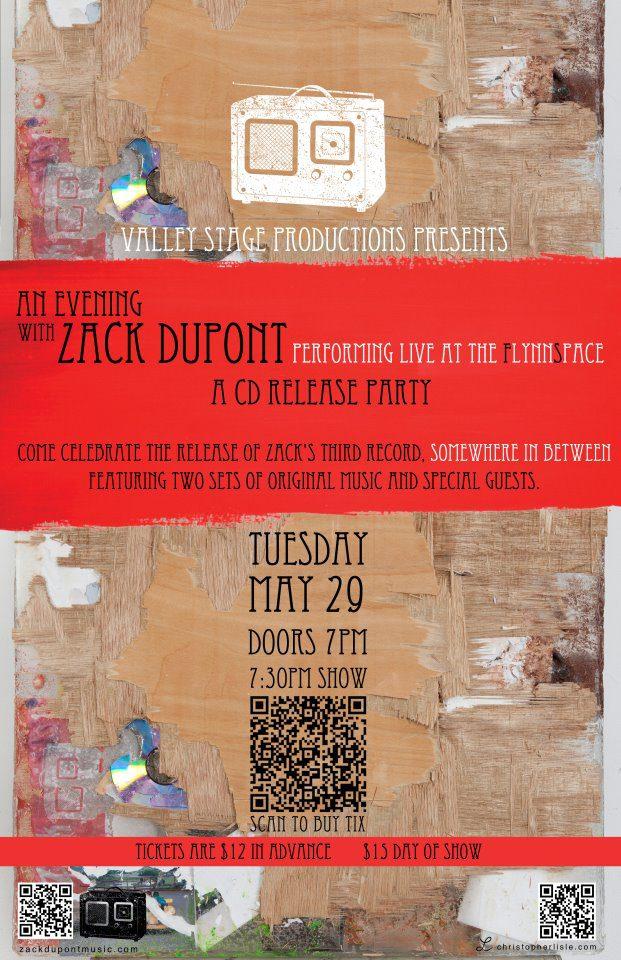 Zack Dupont poster design