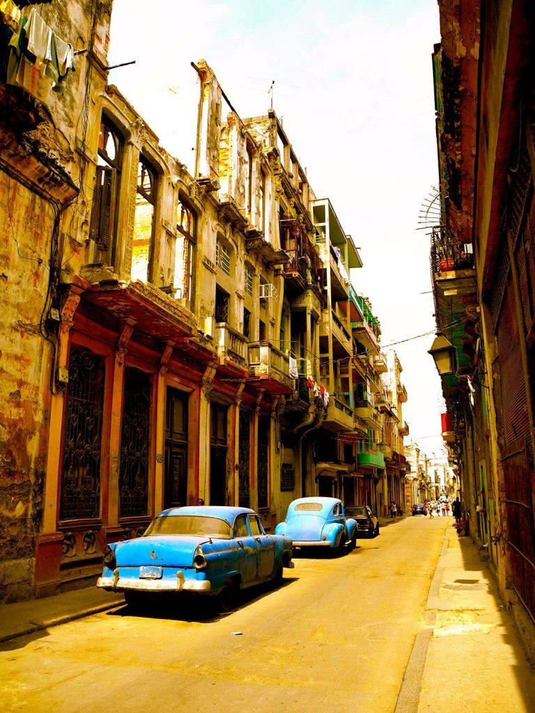 Classic cuban streets