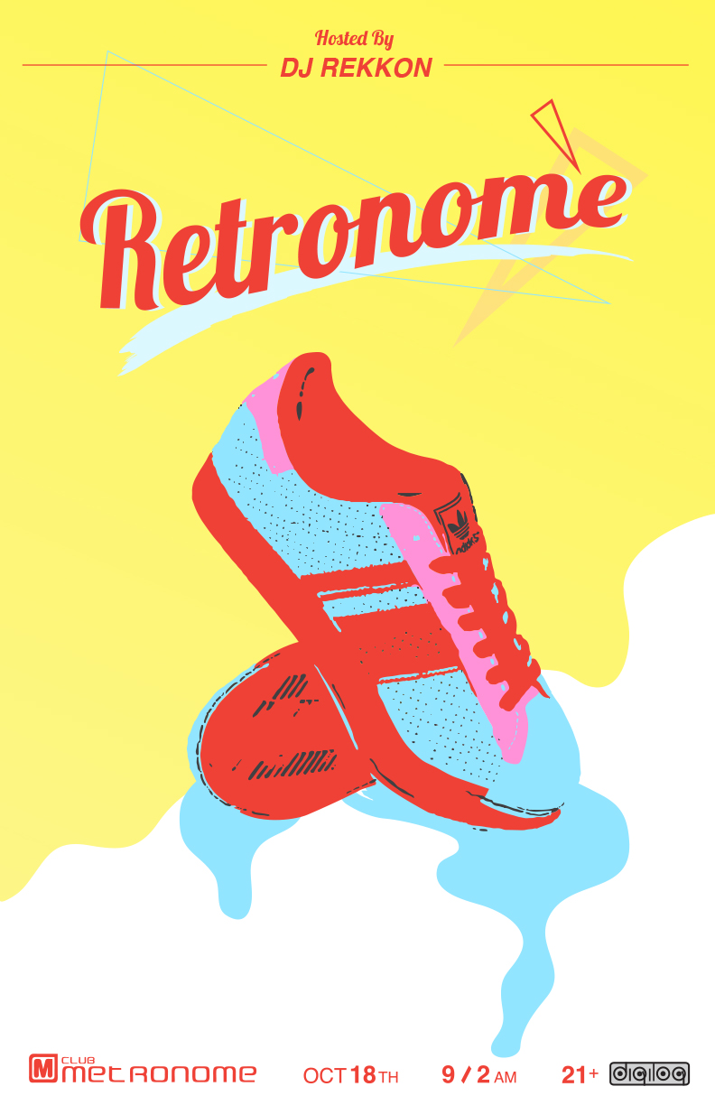 Retronome with DJ Rekkon