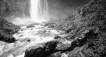Walking around the waterfalls of Oregon