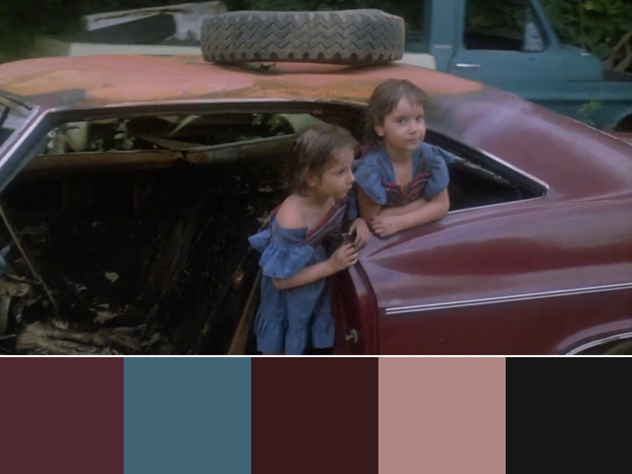 Before the Dawn (1981) Movie Still open sequence