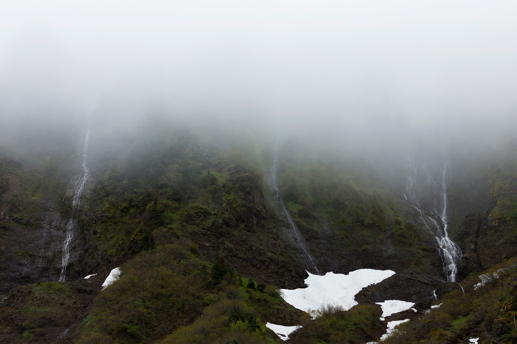 Morning Mist on the Yocum Ridge Falls - Christopher Lisle