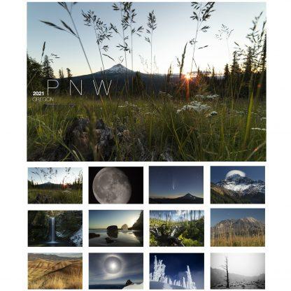 Christopher Lisle | 2021 Calendar | PNW
