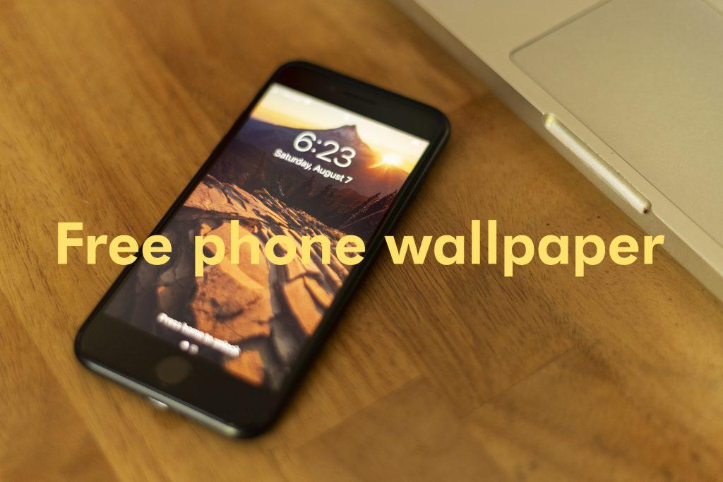 Free phone wallpaper of Mt. Hood by Christopher Lisle