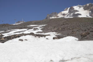 directly above Silcox Hut