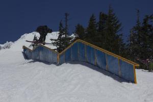 Timberline ski area