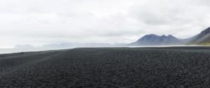 Blackbeach for Hvalnes